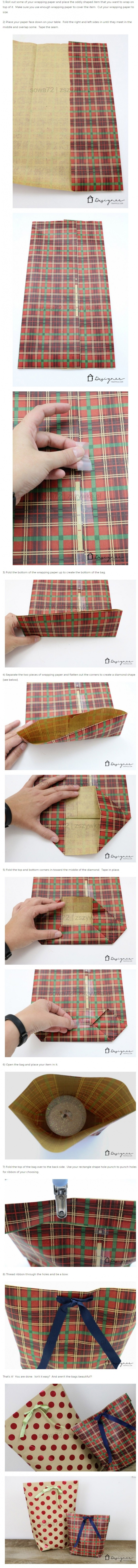 Jak zrobić torbę na prezenty