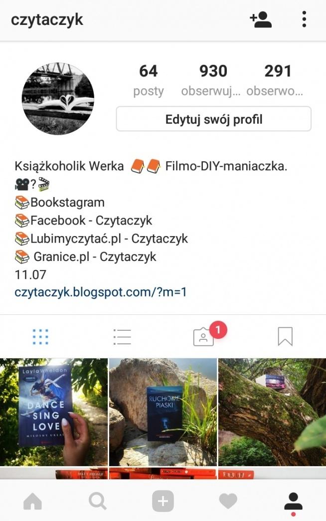 Posiadacie konta na Instagramie?