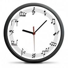 Zegar Muzyka - Zegar ścienny z nutami zamiast cyfr. Kliknij w zdjęcie, by przejść do sklepu! SmartGift.pl - Sklep z Prezentami!