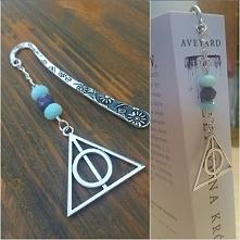 Zakładka do książki ręcznie wykonana z zawieszką z Harry'ego Pottera - I...