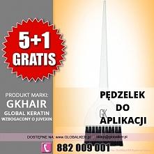 Global Keratin GK Hair pędzelek do aplikacji application brush sklep warszawa Promocja