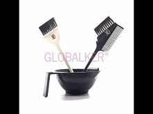Global Keratin GK Hair pędzelki miszeczka zestaw sklep warszawa