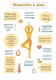 Korzyści z jogi.