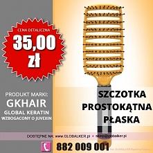Global Keratin szczotka prostokątna płaska vent brush cena 35zł sklep warszawa
