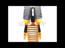 Global Keratin GK Hair zestaw szczotek: - prostokątna płaska vent brush  - szczotka termalna okrągła 43mm thermal round brush - szczotka termalna okrągła 53mm thermal round brus...