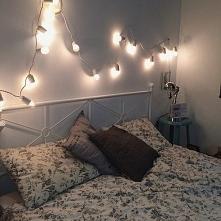 Girlanda może być fajnym pomysłem na oświetlenie Waszej sypialni. Ekotechnik2...