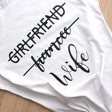 Kliknij w zdjęcie aby przejść do sklepu ;)  Koszulka dla żony lub przyszłej ż...