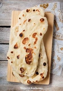 Domowe chlebki naan z patel...
