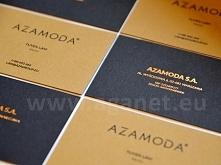 Wizytówki klejone: papier Keaykolour Recycled, hazel, 300g + papier Keaykolou...