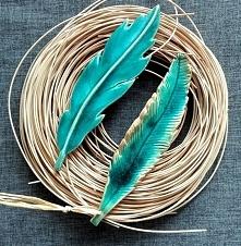 Pióro ceramiczne wooden love