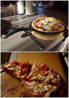 Składniki: ciasto na pizze: 300 g mąki pszennej 200 ml wody 3 łyżki oliwy 1 łyżeczka proszku do pieczenia 1 łyżeczka ziół prowansalskich sól do smaku sos i dodatki: puszka przec...