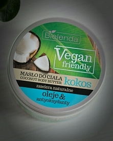 Bielenda - Kokosowe masło do ciała Vegan Friendly  Moja opinia: Masło pachnie...