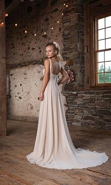 Suknia empire - tył