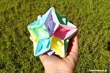 Przepiękna kula z łódek origami - wideo-instrukcja już na blogu!