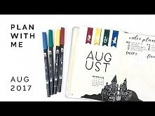 Plan With Me - August 2017