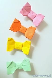 Przepiękna mucha origami! Instrukcja już na stronie! :)