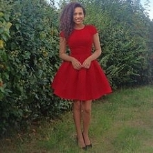 Przepiękna czerwona sukienka Chi Chi London, do kupienia TU ➡️ sukienkichichi...