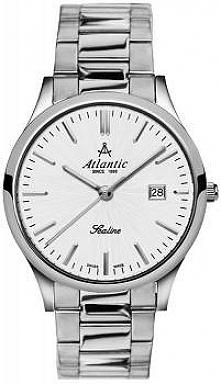 Atlantic 62346.41.21 męski klasyczny zegarek wykonany ze stali szlachetnej na...