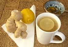 Herbata imbirowa – wspaniały przepis na stres i oczyszczenie organizmu z toksyn