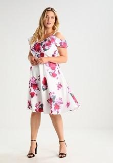 Sukienka w kwiaty na lato C...
