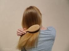 Włosy miękkie, nawilżone i sprężyste - taki efekt uzyskałam dzięki domowej ma...
