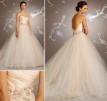 Najpopularniejsza suknia ślubna projektu Lazaro.