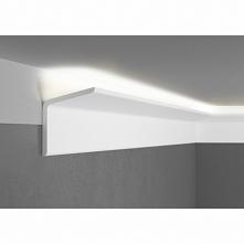 Listwa przysufitowa oświetleniowa QL012R Paper Mardom Decor sztukateria gładk...
