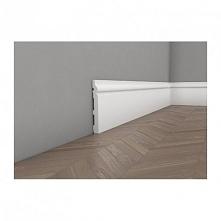 Biała gładka listwa przypodłgowa wykonana z wytrzymałych polimerów. MD020 Mardom Decor to sztukateria dla osób, które nie lubią żadnych kompromisów. Dostępna w sklepie online De...