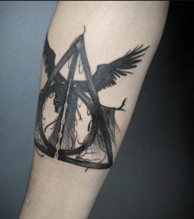 Tattoo Na Harry Potter Zszywkapl