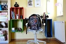 Samodzielnie wykonane biurko w stylu modułowym. Jak Wam się podoba?