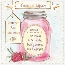 sok malinowy:)