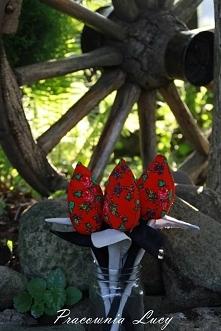 tulipany w stylu Góralskim