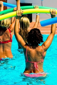 Aqua fitness, to najlepszy sposób, by kobieta puszysta byłą w dobrej formie
