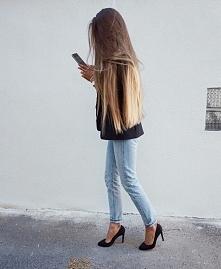 te włosy...