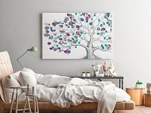 Drzewo życia - nowoczesny obraz do salonu