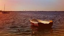 Poranek nad jeziorem Bukowo