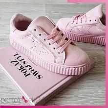Creepersy w ślicznym, różowy kolorze. Co o nich myślicie? Pantofelek24.pl