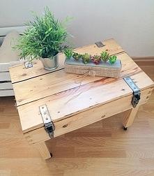 DIY - Stół ze skrzyni wojskowej
