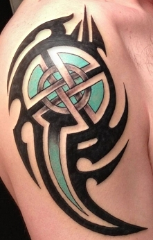tribal i celtycki symbol