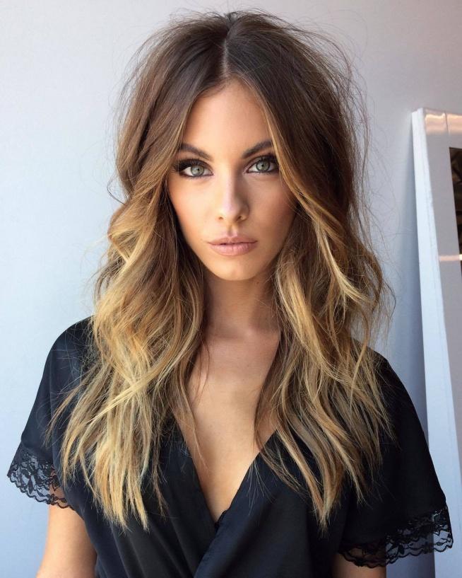 dla mnie idealny makijaż i włosy.. i śliczna kobieta <3