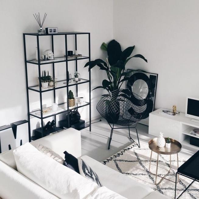 #blackandwhite #room
