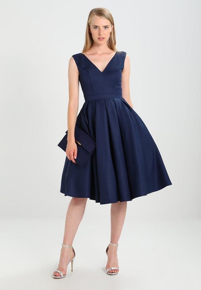 Sukienka koktajlowa Chi Chi London ZARA w stylu lat 50.