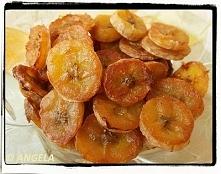 Chipsy bananowe z piekarnika
