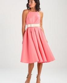 Elegancka sukienka koktajlo...