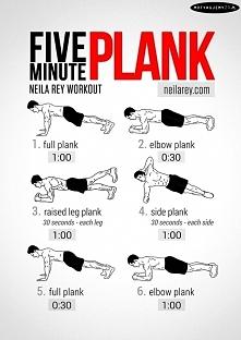 plank 5 minutowy trening brzucha