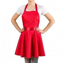Fartuszek Sukienka - Czerwony damski fartuszek, który wygląda jak sukienka. Kliknij w zdjęcie, by przejść do sklepu! SmartGift.pl Sklep z Prezentami Oraz Gadżetami!