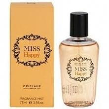 mgiełka Miss Happy-zapach utrzymuje się do trzech godzin. Plastikowa butelecz...
