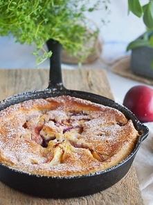 Łatwe ciasto z nektarynkami / Easy nectarine cobbler