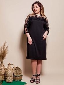 Sukienka Plus Size w rozmiarach 46,48,50,52 i kilku kolorach.  Darmowa dostawa na wszystko! thecovershop.pl