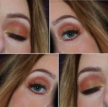 Ciepłe jesienne kolorki :)  instagram : anusmyslinska95 fb : Ania makeup